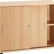 VCM Sideboard Aktano 470 | Schrank mit Schiebetüren Buche